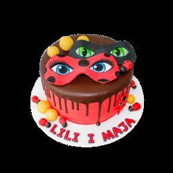 Tort dziecięcy Miraculous D09