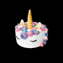Tort dziecięcy Jednorożec D12