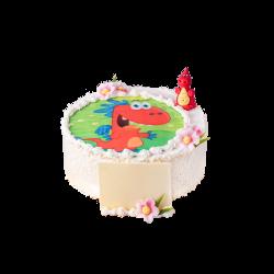 Tort dziecięcy Smok Edzio D13