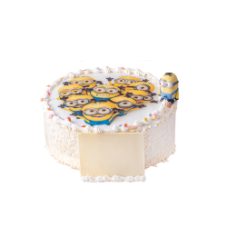 Tort dziecięcy Minionki D14