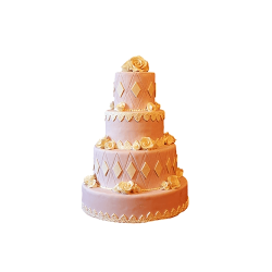 Tort weselny W05
