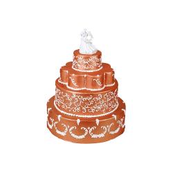 Tort weselny W11