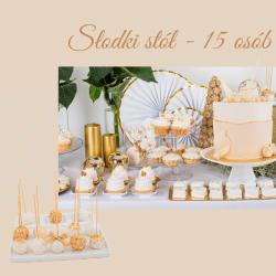 15 osób - Słodki stół na...