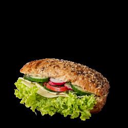 Kanapka z fetą i warzywami